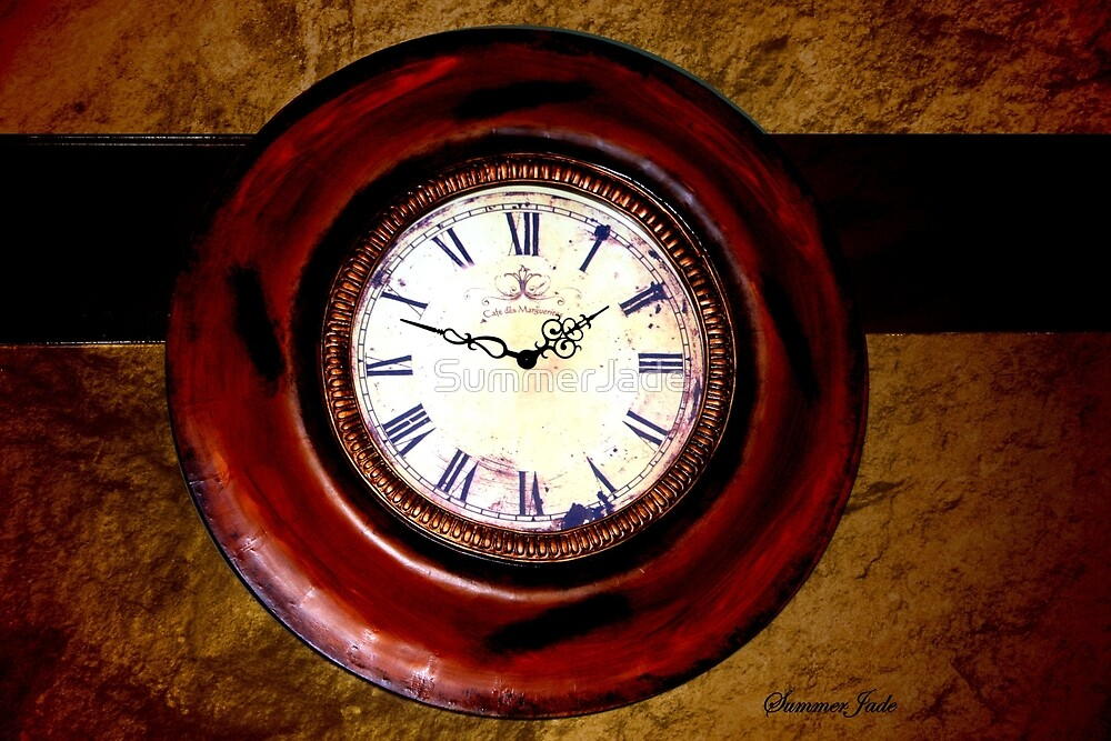 Beckley Exhibition Coal Mine ~ Clock by SummerJade