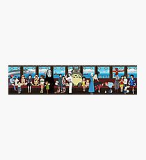 Studio Ghibli Train Photographic Print