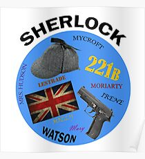 This is My Sherlock Aesthetic  Poster