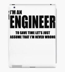 Engineer 2.0 iPad Case/Skin