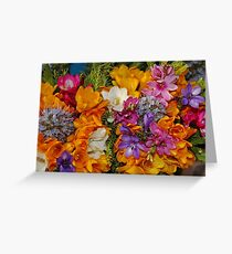 Spring Mixed Bouquet Greeting Card