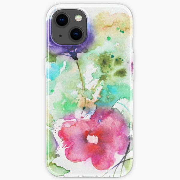 Flowers composition iPhone Soft Case