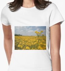 Ohio Byway Womens Fitted T-Shirt