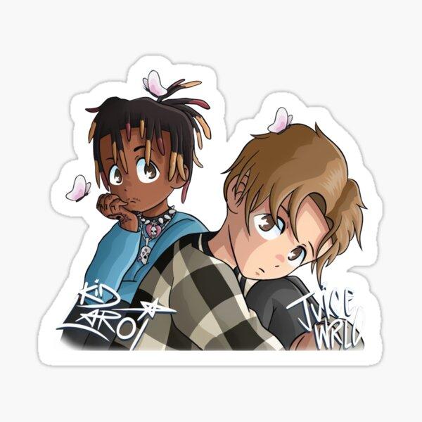 Juice WRLD und The Kid Laroi Sticker
