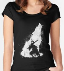 Abyss Warrior Women's Fitted Scoop T-Shirt