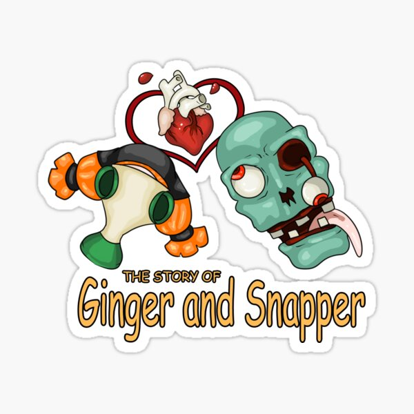 Ginger and Snapper Sticker