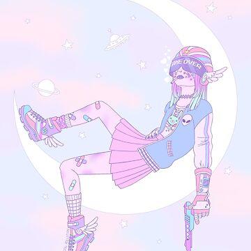 Lunar Ranger by PastelPollution