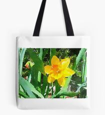 Daffodil in the Morning Sun Tote Bag