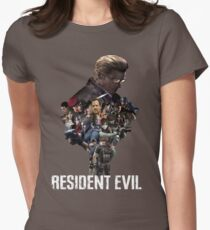 Resident Evil! Womens Fitted T-Shirt