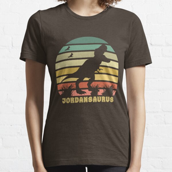 Funny Jordansaurus Essential T-Shirt