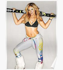 Lindsey Vonn Team USA Skiing  Poster