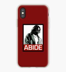 Jeff Lebowski (the dude) abides - the big lebowski iPhone Case
