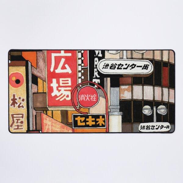 Tokyo Street Signs Desk Mat