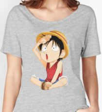 luffy one piece Women's Relaxed Fit T-Shirt