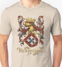 Arms of King of Portugal - Livro do Armeiro-Mor T-Shirt