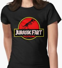 Jurassic Fart Women's Fitted T-Shirt