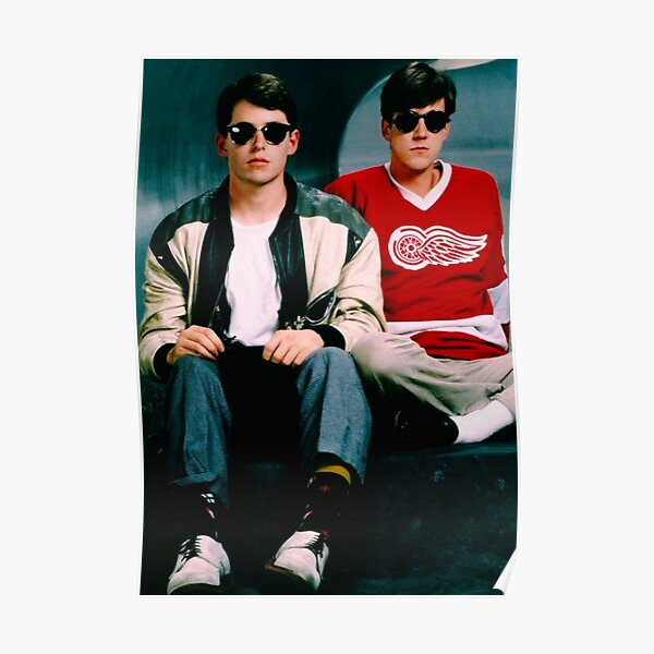 Ferris Bueller's Day Off and Cameron Poster and Tapestry  Poster