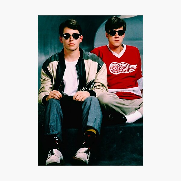 Ferris Bueller's Day Off and Cameron Poster and Tapestry  Photographic Print