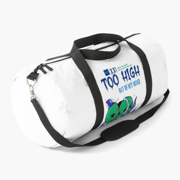 Too High Alien Duffle Bag
