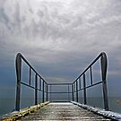Clouds over Pier by cclaude