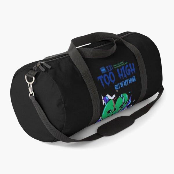 Too High Alien (Black) Duffle Bag