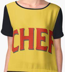 Chef Chiffon Top
