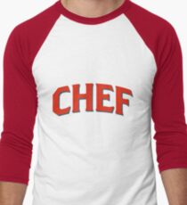 Chef Men's Baseball ¾ T-Shirt