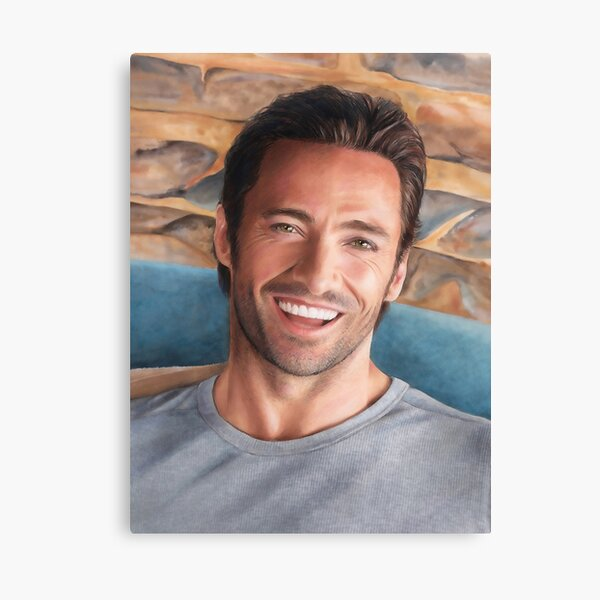 Hugh Jackman Art Canvas Print