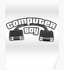 Computer Boy Poster