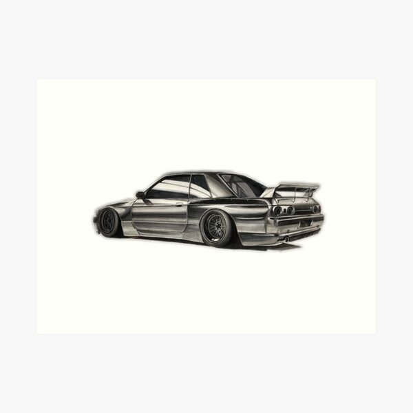 Pandem R32 GTR Art Print