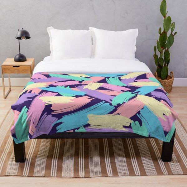 Pastels Throw Blanket