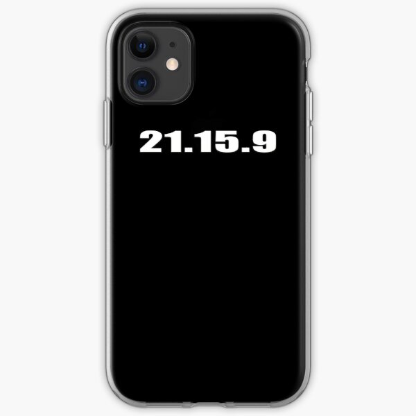 21 15 9 CROSSFIT INSPIRED SHIRT iPhone Soft Case