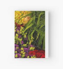 flowers- Amsterdam flower market Hardcover Journal
