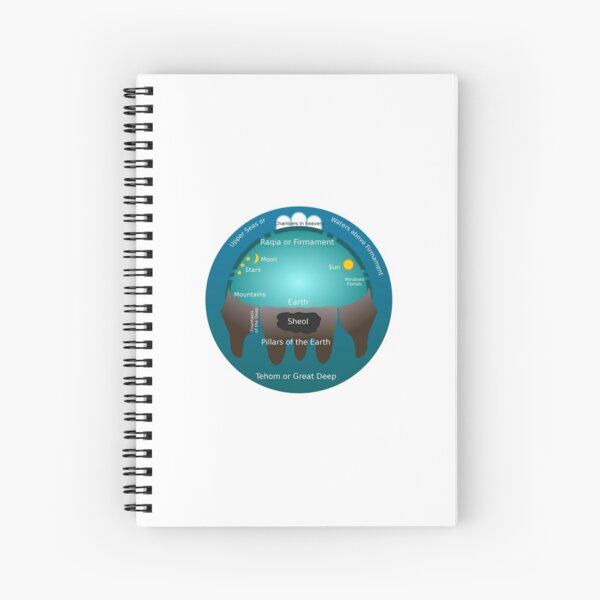 The Old Testament cosmos Spiral Notebook