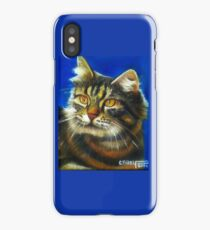 Cathy the cat iPhone Case/Skin
