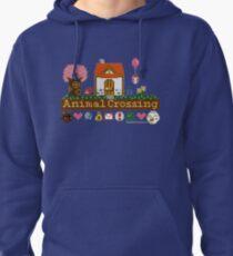 Animal Crossing Pixel house Pullover Hoodie