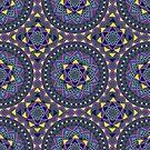 Stammes-ethnische Vintage-Muster von Viktoriia