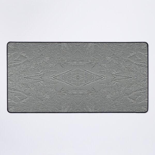 Frozen lake abstract Desk Mat