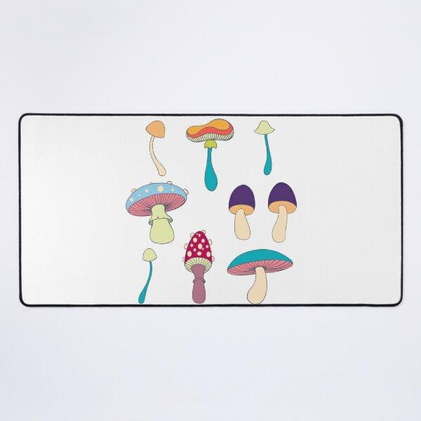 Mushroom seamless pattern Desk Mat