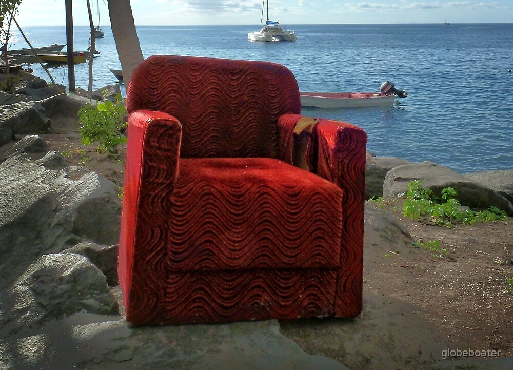 The Red Chair by globeboater