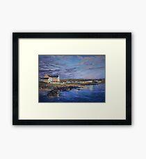 Port Charlotte, Islay - dawn Framed Print