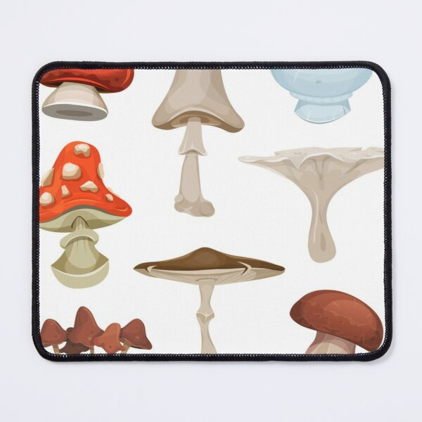 Mushroom seamless pattern Mouse Pad