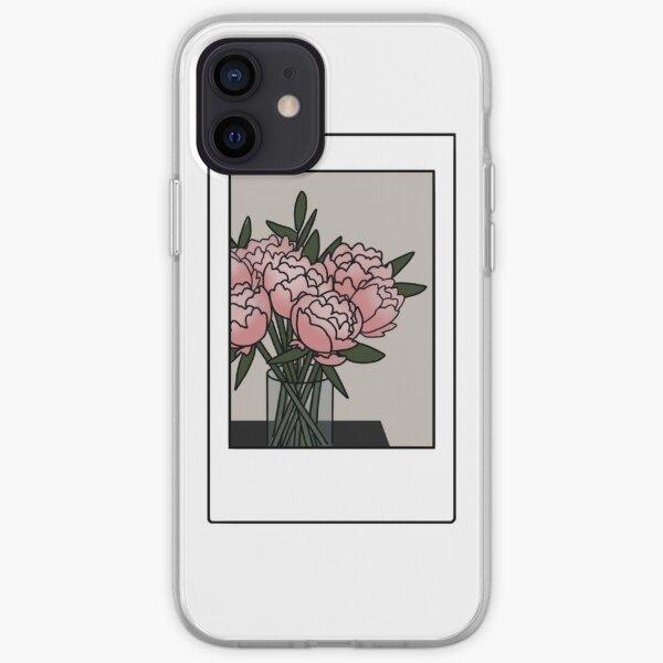 Peonies Photo iPhone Soft Case