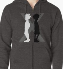 The Light and the Shadow Zipped Hoodie
