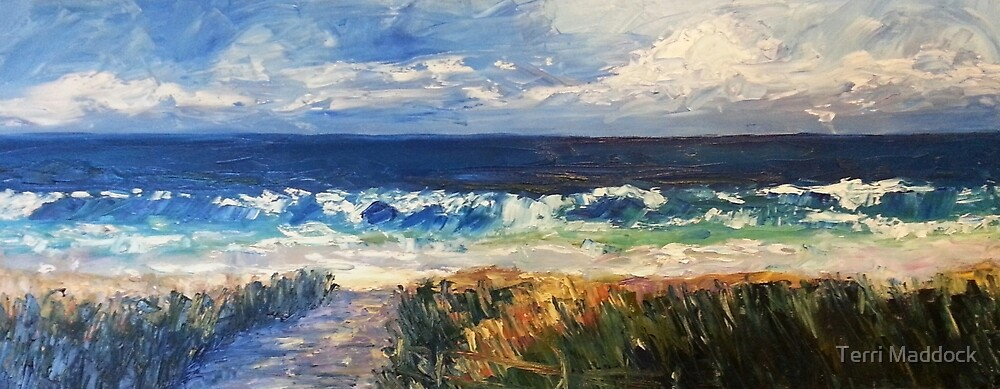 Boomer surf by Terri Maddock