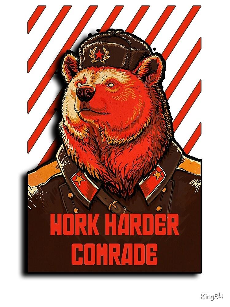 Vote Soviet bear - russian bear meme by King84