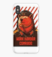Vote Soviet bear - russian bear meme iPhone Case/Skin