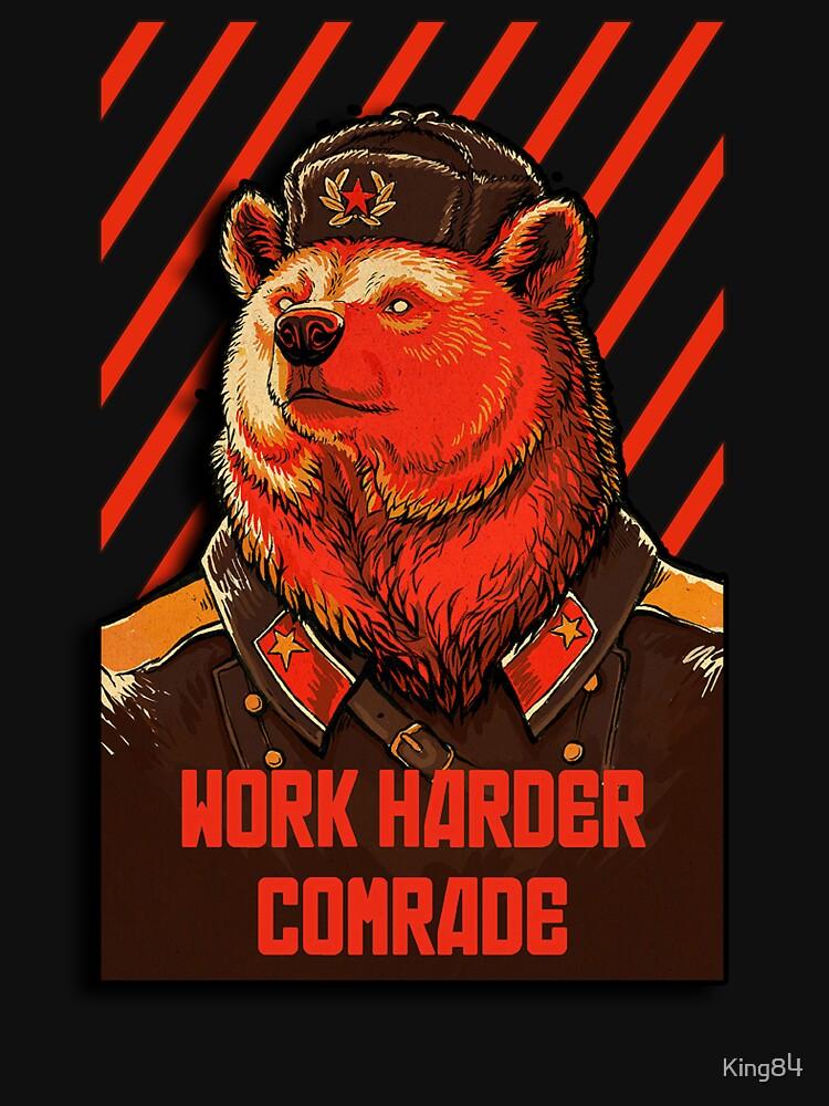 Vote Soviet bear - russian bear meme | Unisex T-Shirt