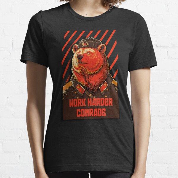 Votez l'ours soviétique - Russian Bear meme T-shirt essentiel