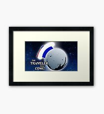 The Traveller Has Come! Framed Print